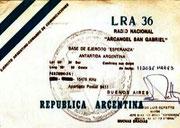 ANTARTIDE - ARGENTINA