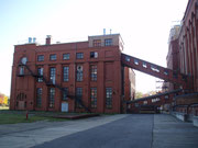 Die ehemalige Brikettfabrik lädt heute zum Museumsbesuch ein