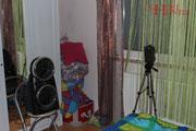 1. OG Fotofalle in Richtung Tür + Diktiergerät (nicht im Bild). #Ghosthunters #paranormal #ghost #geist