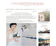 Ein Hochzeitskonzept in der Trendfarbe Blau mit Haarschmuck und Accessoires von Schönmich Accessories