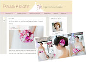 dekoration styled-shoot  mit-der-pantone-farbe-des-jahres-radiant-orchidHaarschmcuk pink fuchsia rosa Brautgürtel