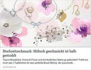 Haarblüte oktoberfest Seide Edelweiß