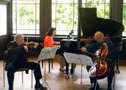 Leichlingen, Probe mit Saschko Gawriloff und Ventseslav Nikolov (2006)