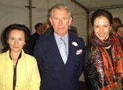 London, mit Natasha Korsakova und Prinz Charles (2009)