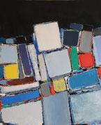 Anne Gaelle Arnaud, oil on canvas-  Art gallery France-Biot-French riviera-BIOT