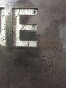 Joseph (Thierry Michelet) finition du métal oxydé et vernis brilant.  Galerie d'art contemporain, Côte d'Azur, josephartwork