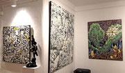 """Exposition Karen Joubert Galerie Gabel -4 décembre 2014-4 janvier 2015  avec Lisi Lopez, """"Jardin précieux"""""""