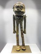 George sculpteur, Doodle, sculpture en bronze, pièce unique. Galerie Gabel, Biot