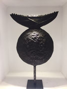 Sophie Hustin- pièces uniques en bronze. H 45cm Galerie Gabel BIOT