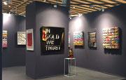Art Up 2017-Galerie Gabel avec Thierry Michelet dit Joseph - Urban Art Fair - Lille Art Up