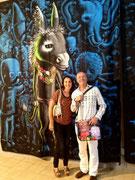 A Valbonne 2014 , expo : collection Jean Ferrero- l'école de Nice-Valérie Gaidoz et Moya