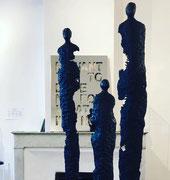 Sophie Hustin- pièces uniques en bronze. Galerie Gabel. BIOT