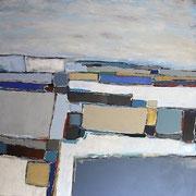 Anne Gaelle Arnaud, oil on canvas -French art gallery. Galerie Gabel- Biot