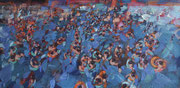 Clothilde Lasserre- Oil on canvas - Contemporary art gallery- French Riviera-France