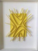 René Galassi Origami  70X55cm Galerie d'art contemporain, Biot, côte d'azur