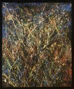 Jean-Jacques Marie, acrilyque sur toile 100X81cm, expressionisme abstrait, abstraction lyrique, galerie d'art Côte d'Azur, Biot