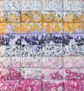 Thierry Michelet dit Joseph- 82X92cm- 32 compressions de papier tagué sur support bois-galerie Gabel-Biot - josephartwork