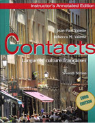 Contacts: Langue et Culture Françaises, Cengage Learning