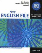 New English File - Pre Intermediate, Oxford