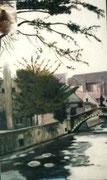 Bruges - acrylique -