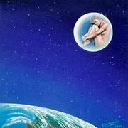 Méditation d'Être avant de naître 40x40cm 950€