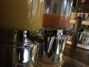 Hotel Spessart Frühstücksbuffet - Hohes C - Milde Orange und mildes Frühstück