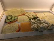 Hotel Spessart Frühstücksbuffet - Käseaufschnitt