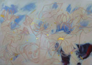 """""""Ein und Das Selbe I"""" 120cm x 100cm (Öl und Blattgold auf Leinwand) 2010"""