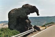 Rocher de l'éléphant près de Castelsardo