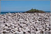 Pléhérel Plage - Galets de granite rose - © Jean-Louis KLEFIZE