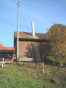 Abgasanlage von Stückholzheizung Fisa AG, Kaminbau