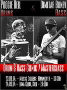 """Das Plakat - """"Master Class"""" - Drum & Bass mit Poogie Bell"""