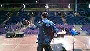 Soundcheck - Sparkassen Arena