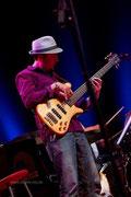 KW 2012, Freilichtbühne, Maya Mo Band & Jazzkantine. Foto - Frank Dudek