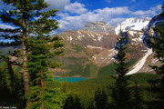Morraine Lake im Valley of Ten Peaks