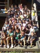 岡山「わらのいえ」での親子教室☆