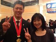 全国優勝した常翔学園高校キャプテンの山田君!圧倒的なリーダーシップの持ち主です☆