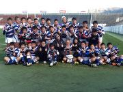 祝!全国制覇!大阪スクール選抜・第18回全国ジュニアラグビーフットボール大会優勝!