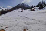 Alp di Luarn 1656 m e Sasso della Guardia