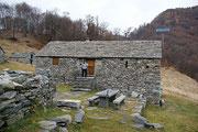 Capanna Orino 1395 m (Valle di Progero / Gudo)
