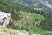 Alpe Tarch dal Pizzo Pianché anche chiamato Poncione di Tarch