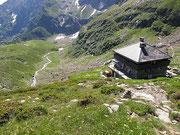 Capanna Campo Tencia 2140 m - Alta Valle Piumogna