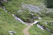Sentiero per l'Alpe di Chièra