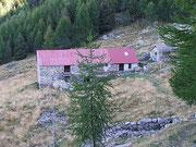 Alpe Peurett - Monti di Claro 1745 m