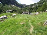 Stabbio di Mezzo 1746 m - Val Marcri (Personico)