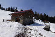 Alp di Luarn 1656 m, Rifugio