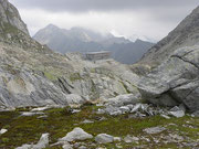 Capanna Cristallina 2575 m (Alta Val Torta / Bedretto)