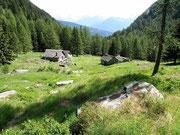 Alpe Marcri 1602 m - Val Marcri (Personico)