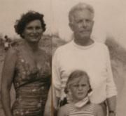 Elisabeth Schürer-Weddigen, Willy Schürer und Tochter Wilma