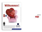 + Imagekampagne: Anzeigenmotiv »Willkommen«